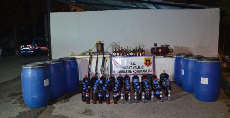 Yozgat'taki Sahte Alkol Operasyonu