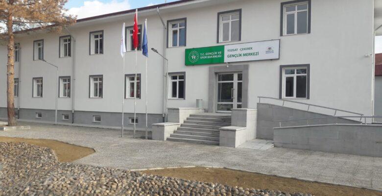 Hükümet Konağı binası gençlik merkezi oldu