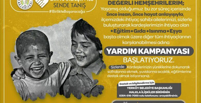 """Ferhat Yılmaz, """"Haydi Yerköy bir kardeşinle sende tanış"""""""