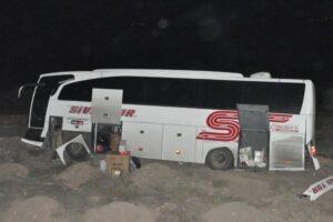 Otobüs kazası: 17 yaralı