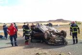 Yerköy'de trafik kazası: 1 ölü, 3 yaralı