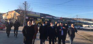 Milletvekili Sedef, Yerköy'de ziyaretlerde bulundu