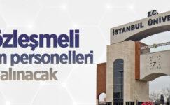 İstanbul Üniversitesi-Cerrahpaşa sözleşmeli bilişim personelleri alacak