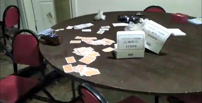 Yozgat'ta kumar oynayanlara şok baskın