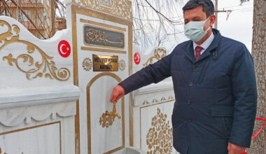 """Başkan Yılmaz, """"Muhsin Yazıcıoğlu Parkı açıldı"""""""