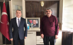 Deva Partisi İl Başkanı Yılmaz'dan STK'lara ziyaret turu