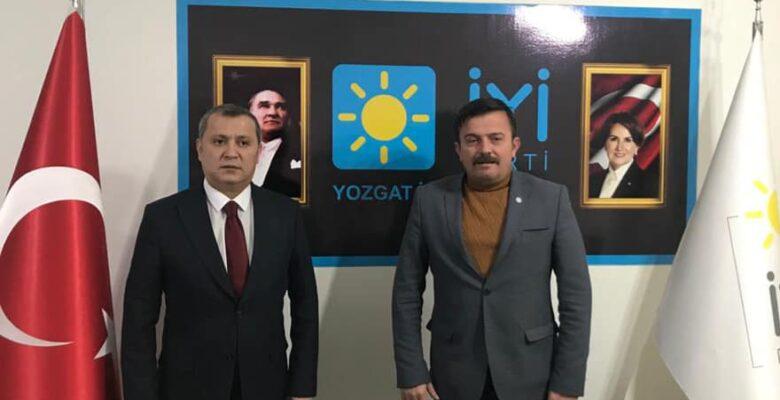Yılmaz'dan, İYİ Parti İl Başkanı Özışık'a ziyaret