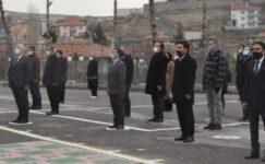 Okullarda İstiklal Marşı okundu