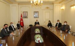 Şefaatli'ye salça fabrikası kurulumu için protokoller imzalandı