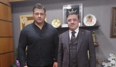 Rıza Kayaalp'ten AK Parti Yozgat Milletvekili Yusuf Başer'e ziyaret