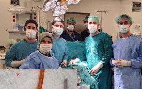Şehir Hastanesinde Ameliyatlar hız kesmeden devam ediyor
