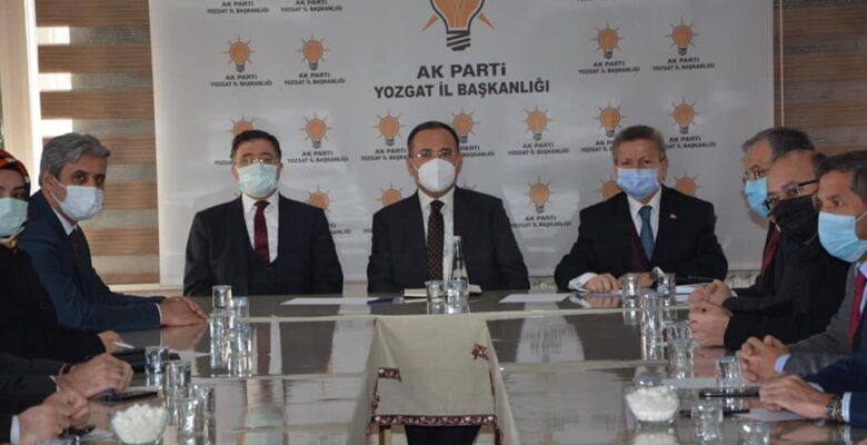 Bekir Bozdağ, İlçe Başkanları istişare toplantısına katıldı