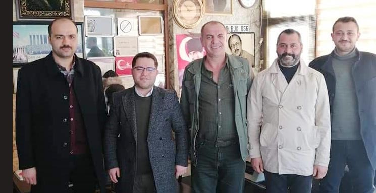 AK parti ilçe teşkilatı, esnaf ziyaretlerine devam ediyor