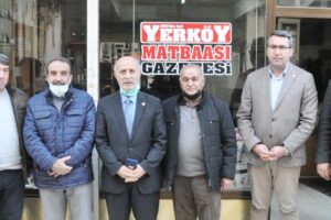 """Milletvekili Ali Keven, """"Gazetecilerin sorunları çözülmeli"""""""