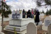 Şehit Muzaffer Tufaner, mezarı başında dualarla anıldı
