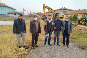 Yerköy İlçe Belediyesi, Yeni Park Çalışmalarına Başladı