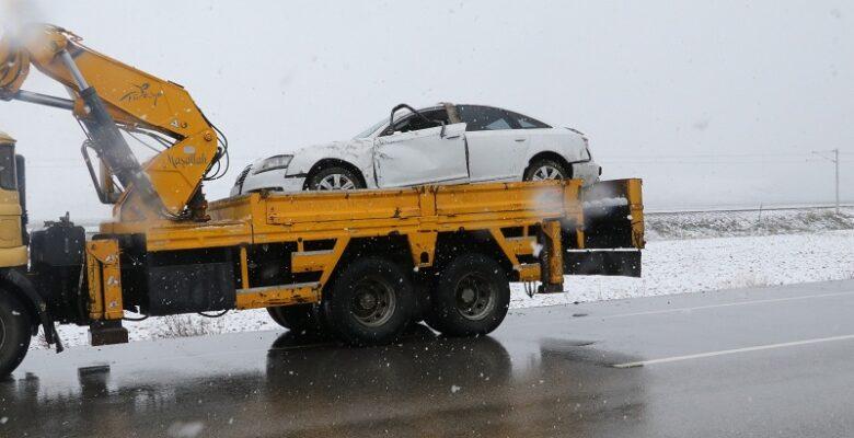 Yerköy'de trafik kazası: 1 Yargıtay Cumhuriyet Savcısı ve 3 kişi yaralandı