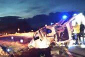 Korkunç kazada biri bebek iki kişi yaşamını yitirdi