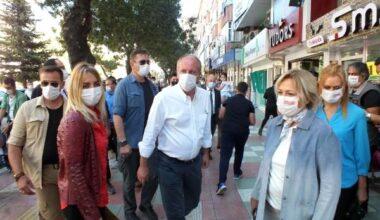 Muharrem İnce, Yozgat'ta esnafları ziyaret etti