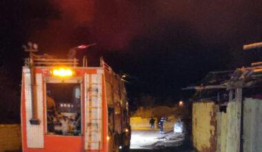 Yerköy'de ev yangını