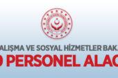 Aile, Çalışma ve Sosyal Hizmetler Bakanlığı 250 personel alacak