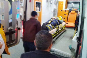 Yerköy'de ambulans kazası: 3 kişi yaralandı