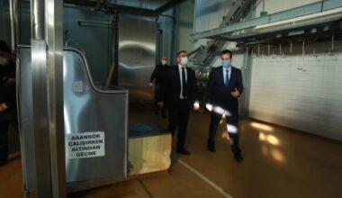 """Vali Polat, """"Yozgat'ımıza süt işletme tesisi hayırlı olsun"""""""