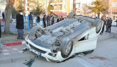 Yerköy'de trafik kazası: 4 yaralı