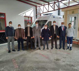 Yerköy Devlet Hastanesine Ambulans Desteği