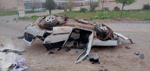 Yerköy'de trafik kazası: 2 yaralı