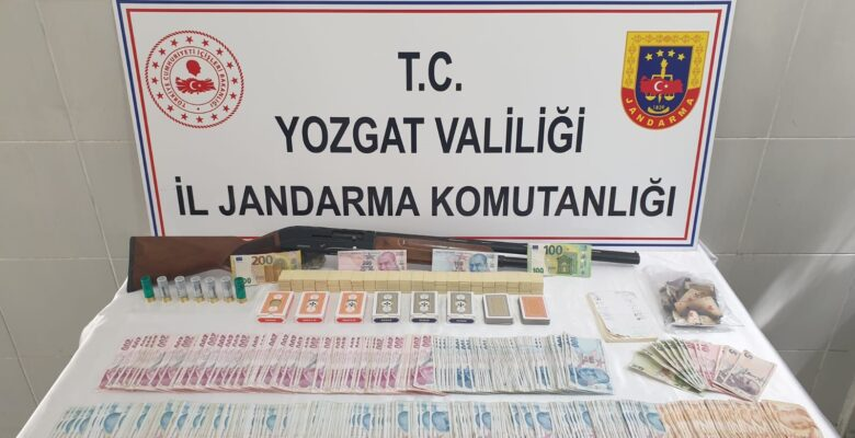 Jandarma'dan kumar operasyonu