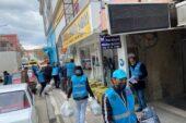 Yerköy'de 120 aileye ramazan kolisi dağıtıldı