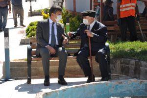 Eski ve yeni belediye başkanları tecrübesini paylaştı