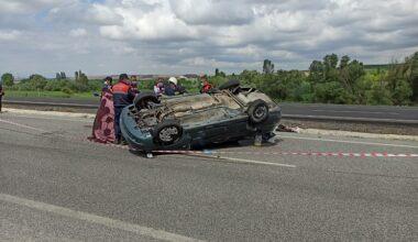 Saray köyünde trafik kazası: 1 ölü, 3 yaralı