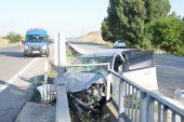 Yerköy'de trafik kazası: 1 ölü, 2 yaralı
