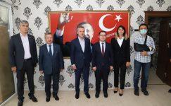 Kandemir ve beraberindeki heyetten, Yerköy'e ziyaret