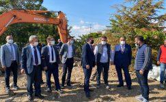Milletvekili Başer, Yerköy'de yatırımları inceledi
