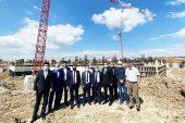 """Milletvekili Başer, """"Devlet Hastanesi inşaatı devam ediyor"""""""