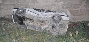 Çiçekdağı'nda trafik kazası: 1 yaralı