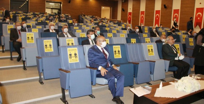 İl Koordinasyon Kurulu Vali Polat Başkanlığında toplandı