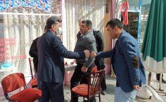 Başkan Ferhat Yılmaz, esnaf ziyaretlerini sürdürüyor