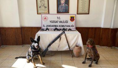 Jandarma Aydıncıkta, bağ evine şafak operasyonu yaptı
